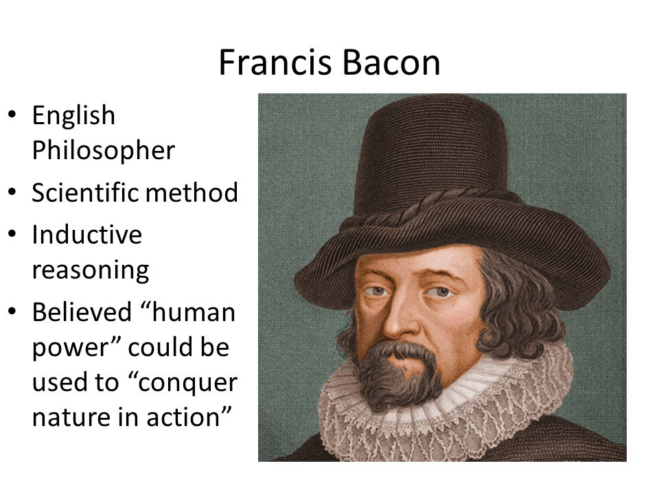 Francis Bacon English Philosopher Scientific method