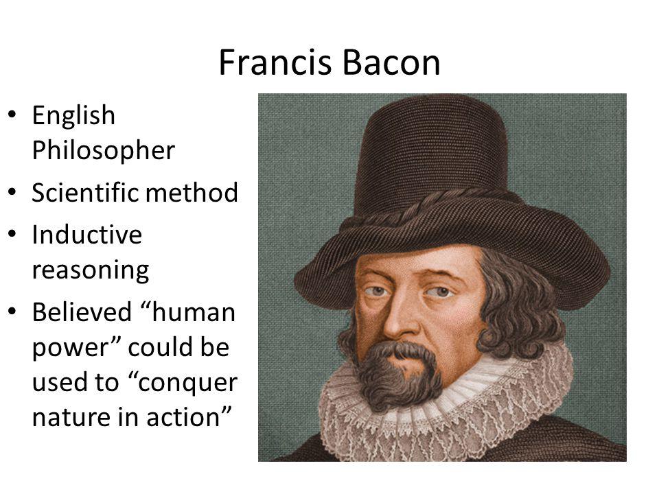 Francis Bacon English Philosopher Scientific method