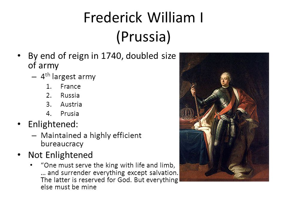 Frederick William I (Prussia)