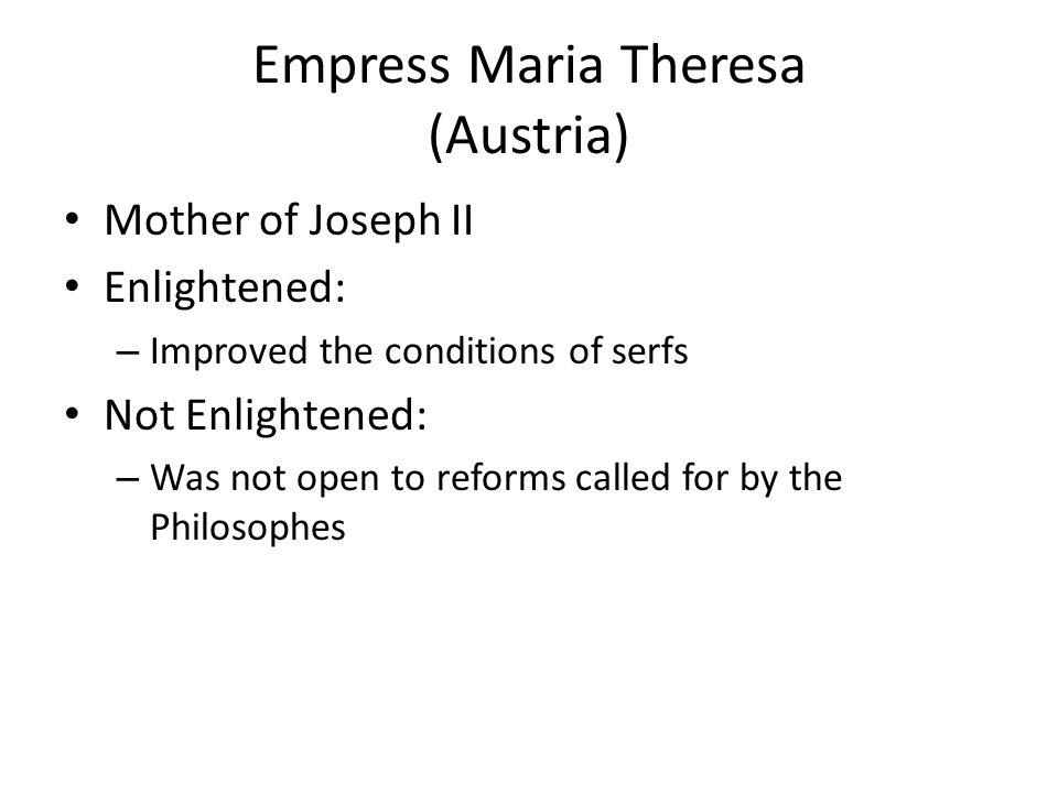 Empress Maria Theresa (Austria)