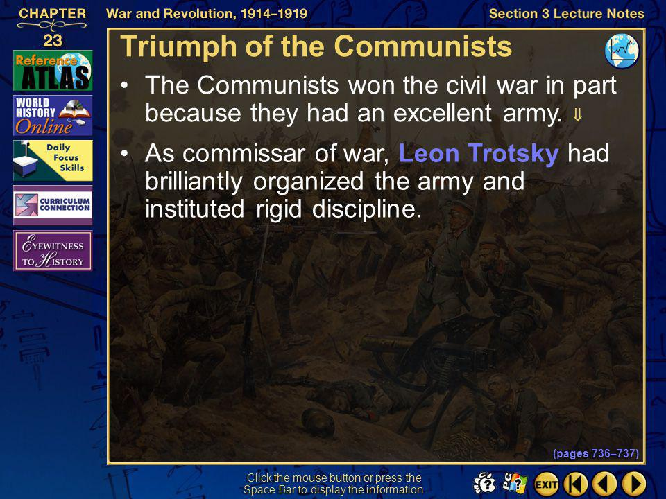 Triumph of the Communists