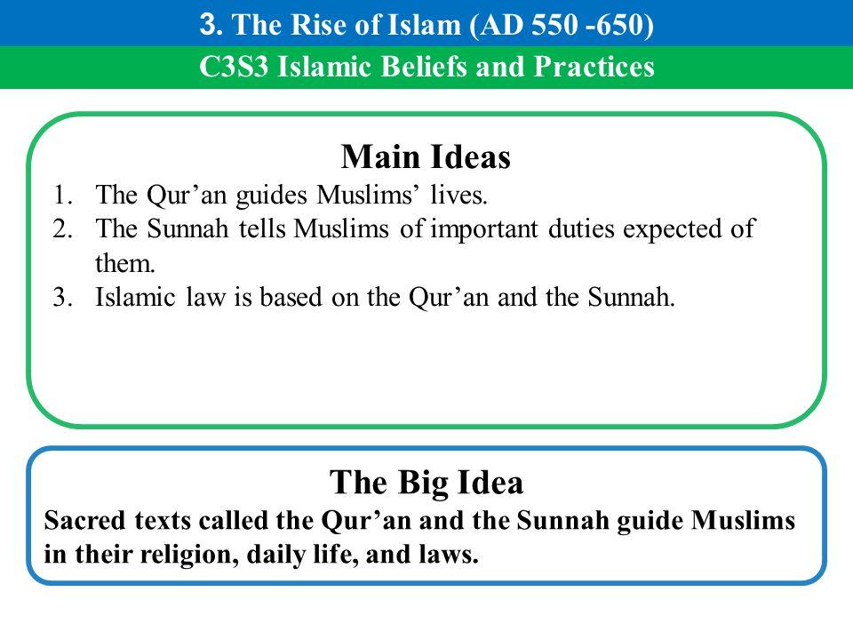C3S3 Islamic Beliefs and Practices