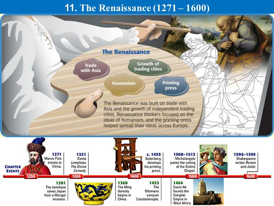 11. The Renaissance (1271 – 1600)