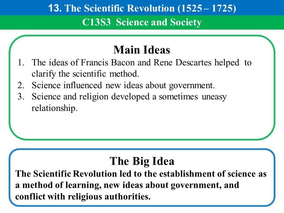 13. The Scientific Revolution (1525 – 1725)