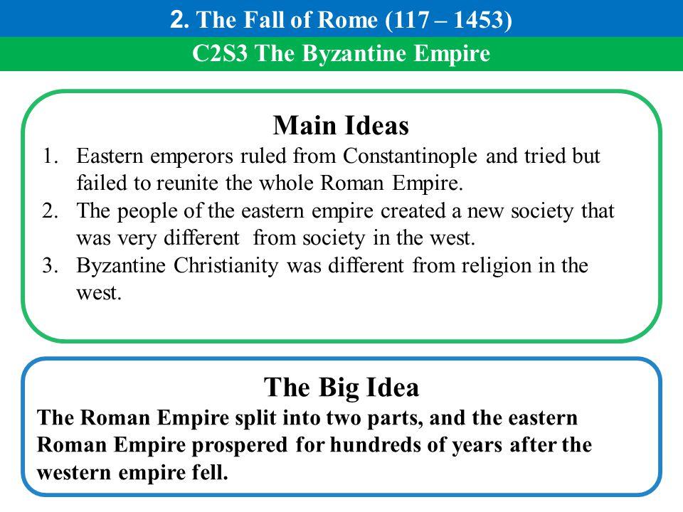C2S3 The Byzantine Empire