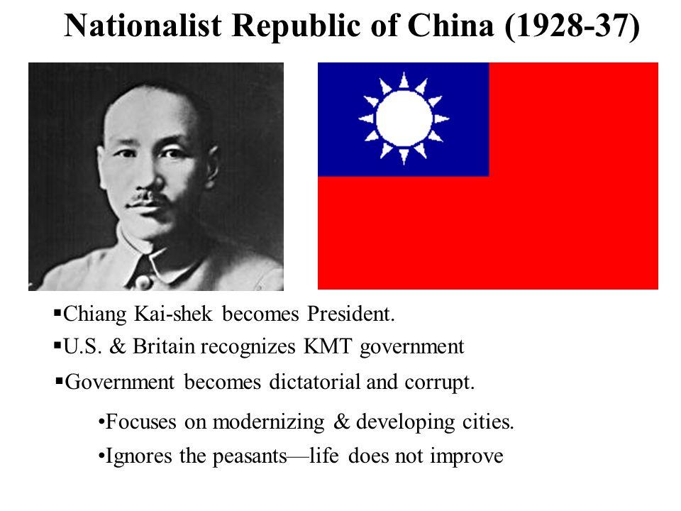 Nationalist Republic of China (1928-37)