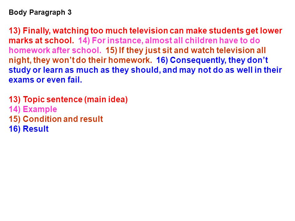 Essay children should not watch tv