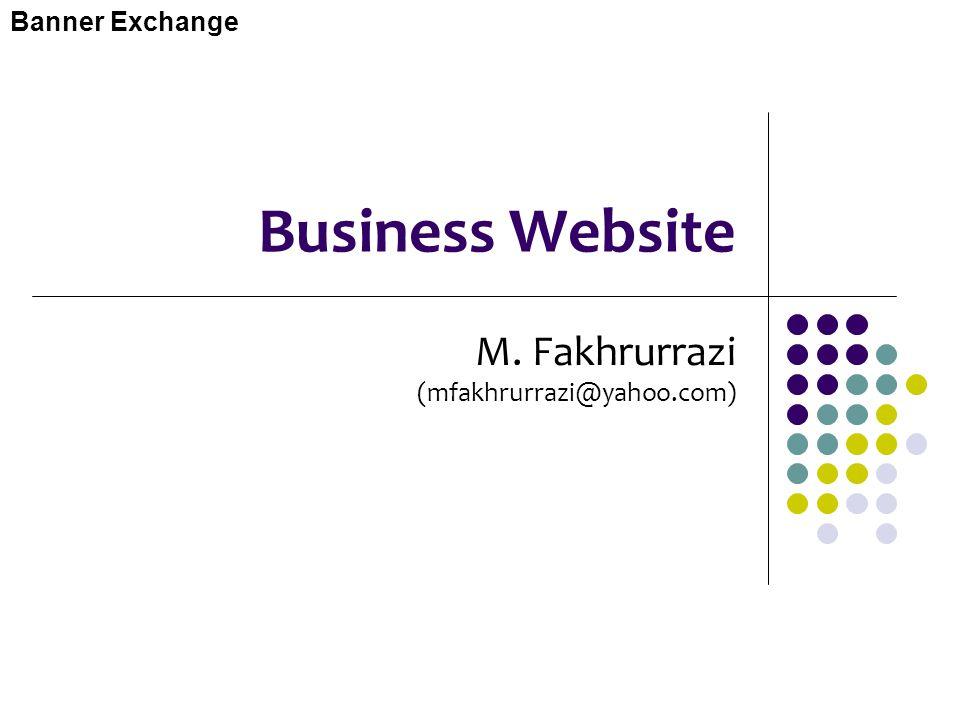 M. Fakhrurrazi (mfakhrurrazi@yahoo.com)