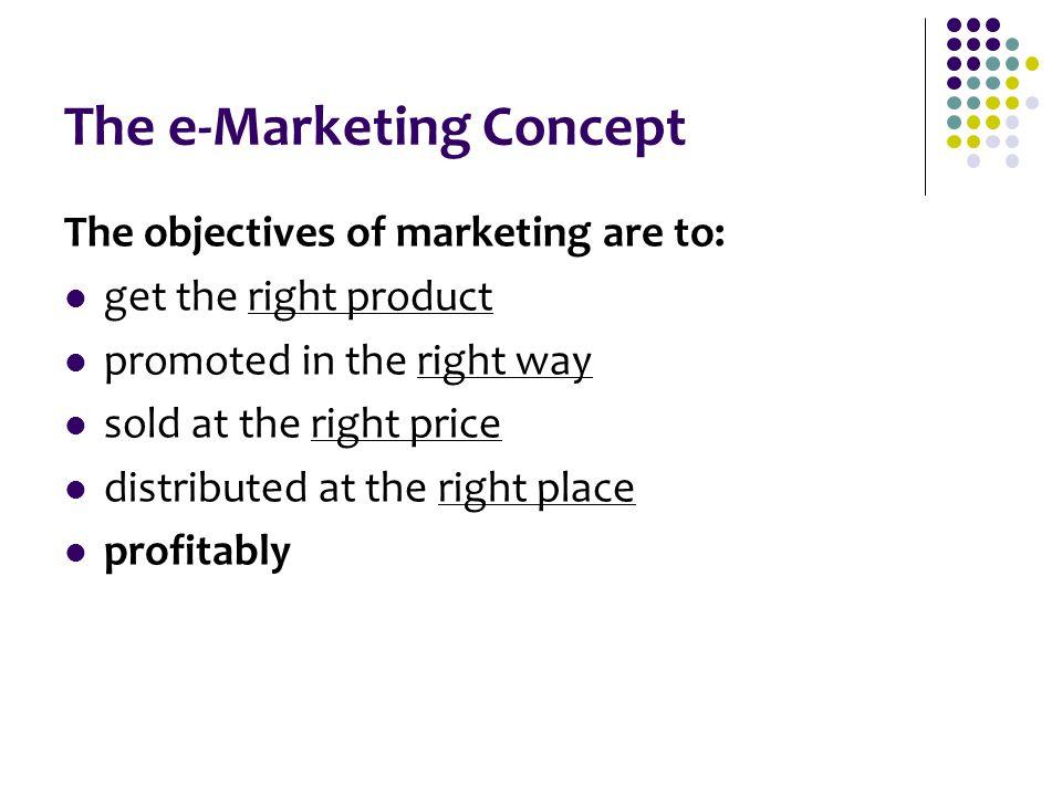 The e-Marketing Concept