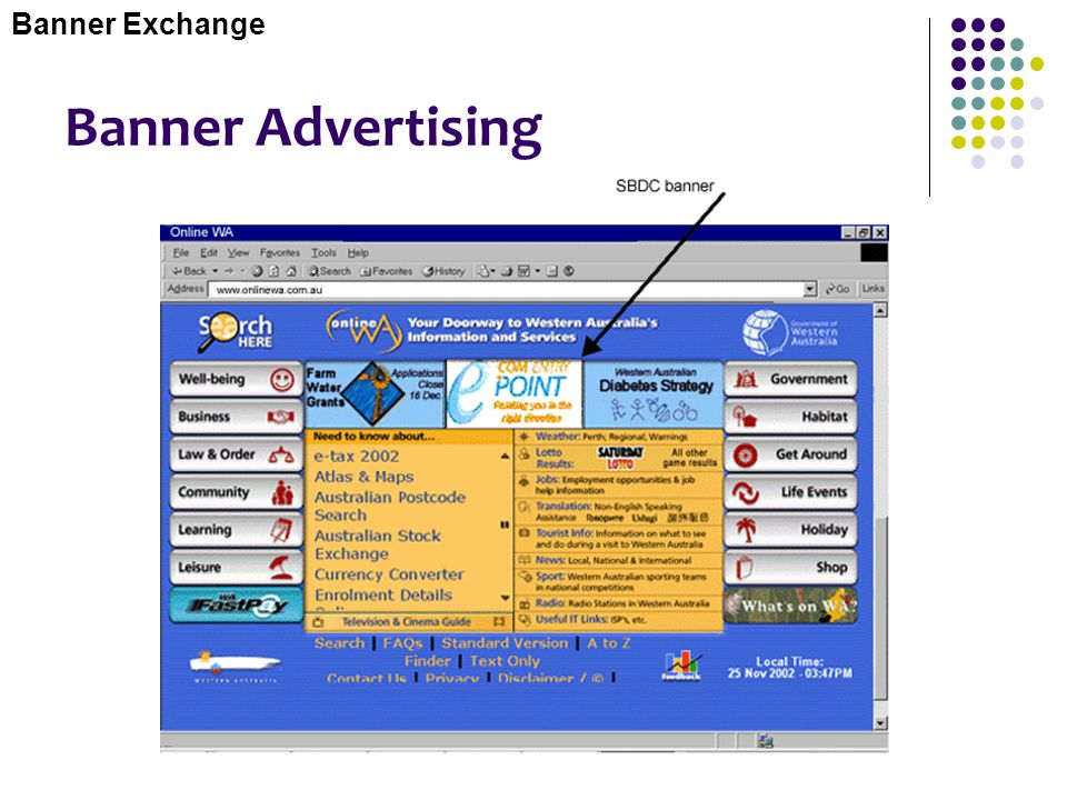 Banner Exchange Banner Advertising