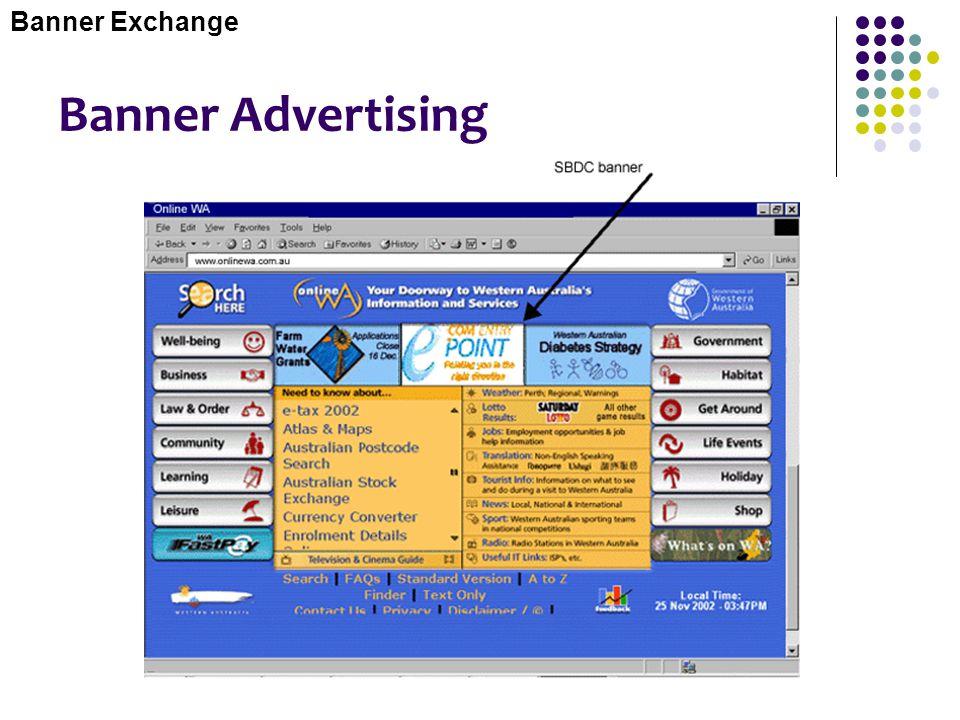 Banner Exchange Banner Advertising