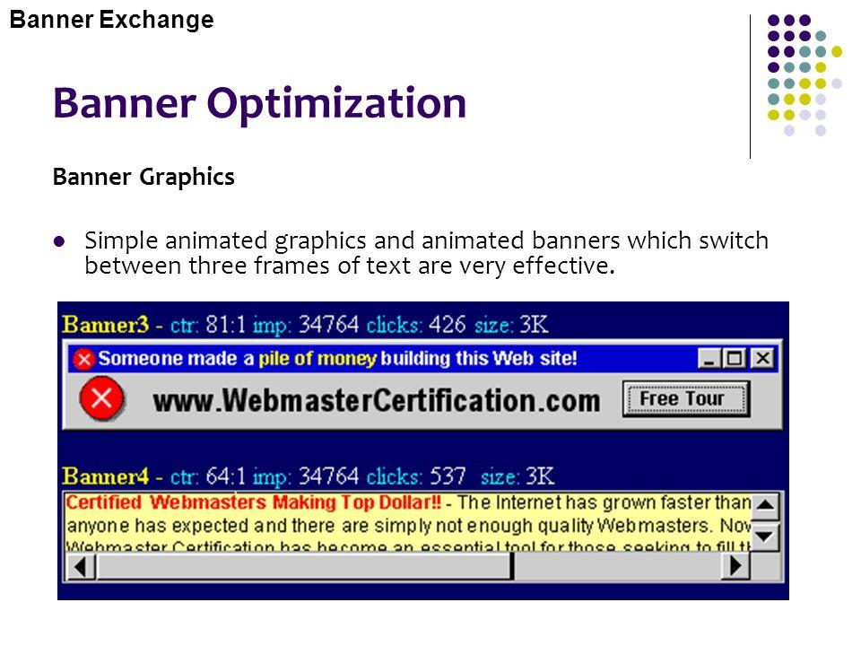 Banner Optimization Banner Graphics