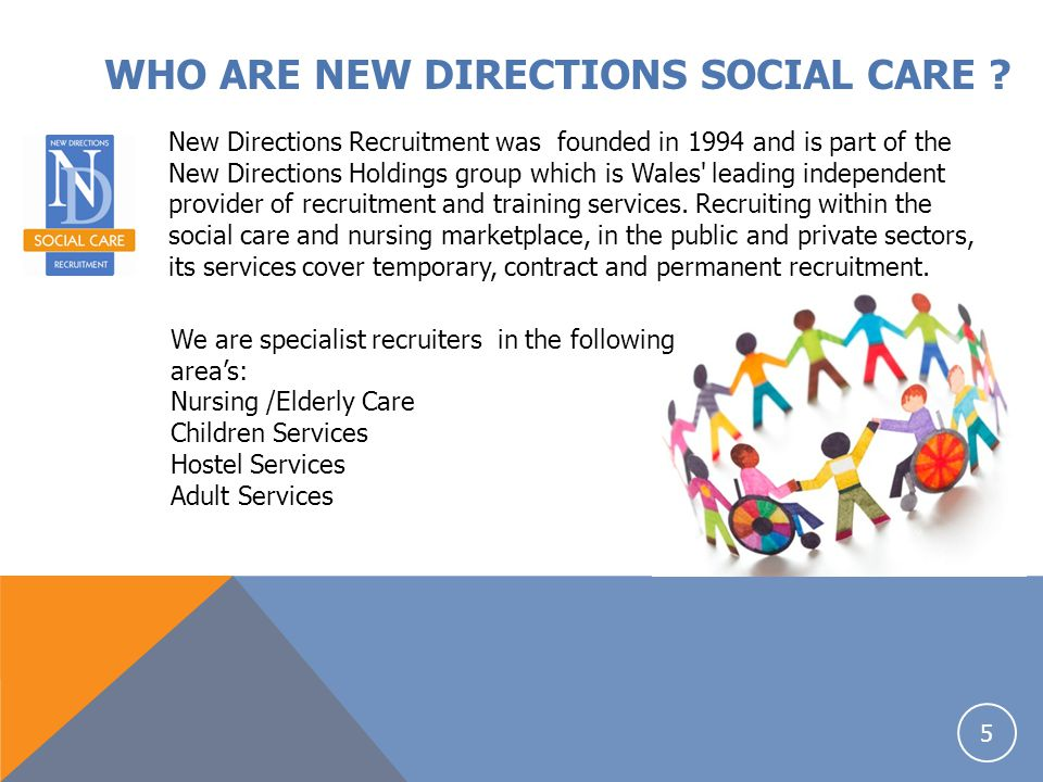 WHO ARE NEW DIRECTIONS SOCIAL CARE