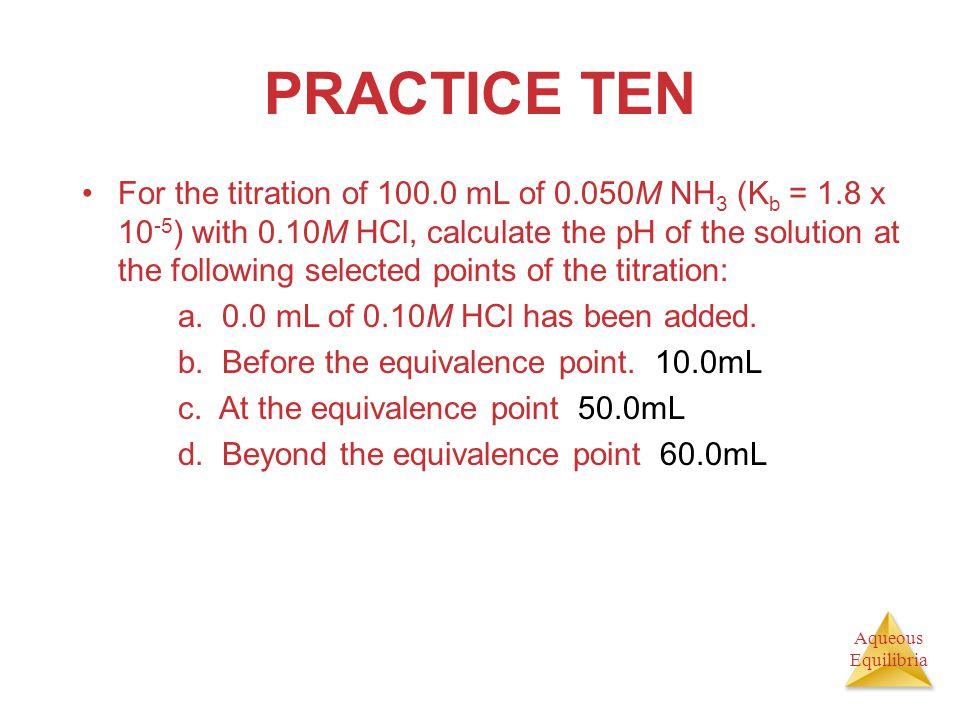 PRACTICE TEN