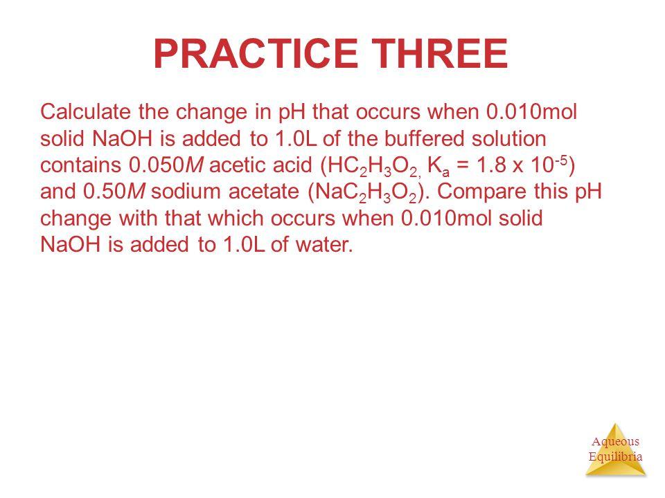 PRACTICE THREE