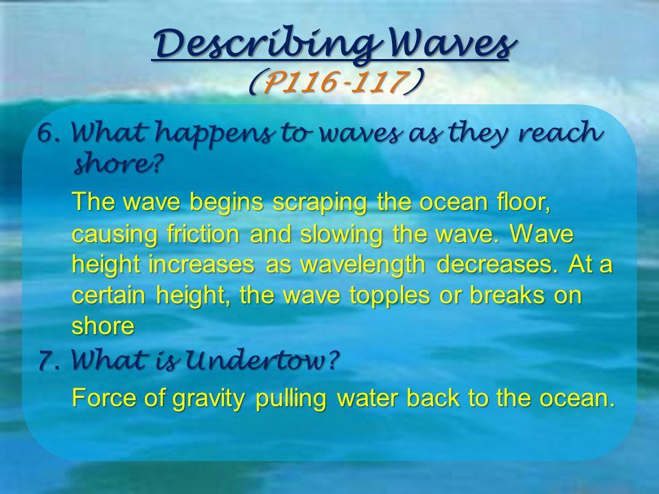Describing Waves (P116-117)