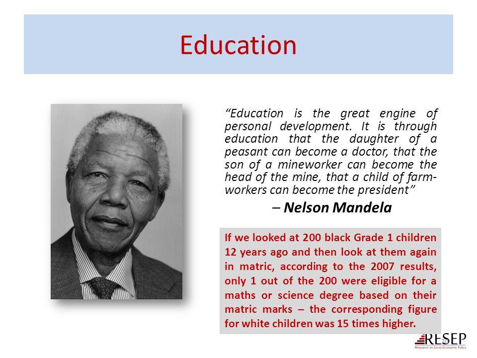 Education – Nelson Mandela
