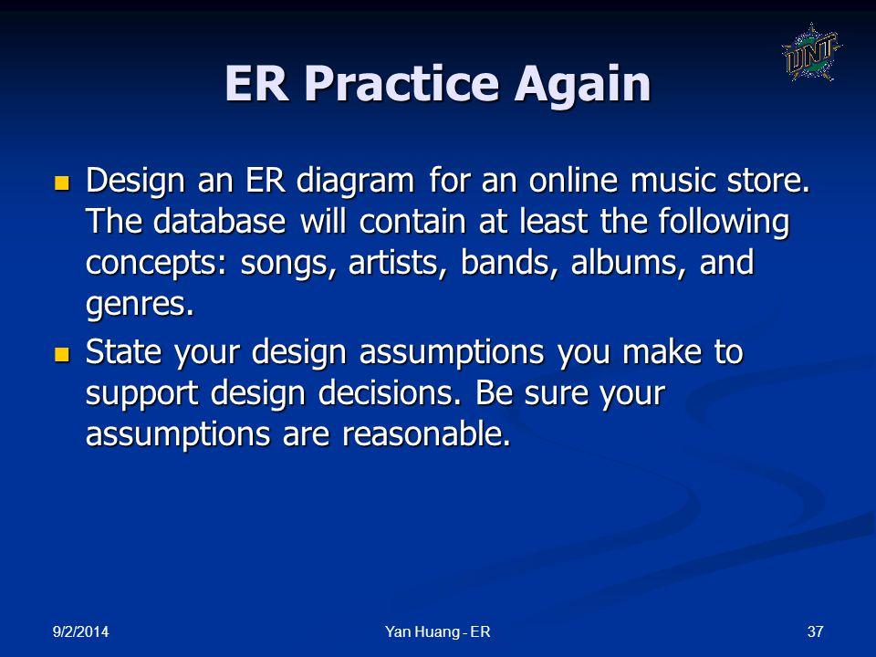 ER Practice Again