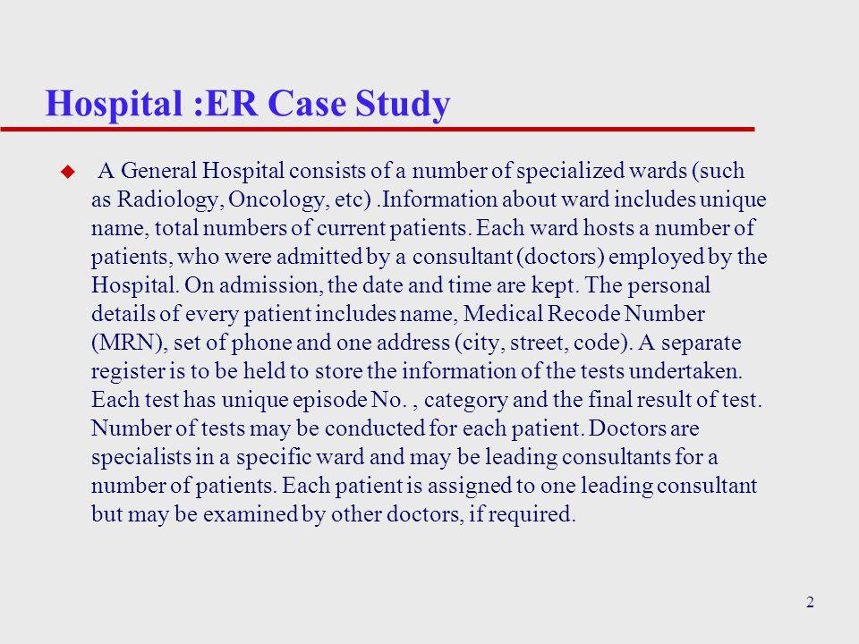 consultant case study