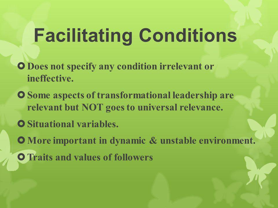 Facilitating Conditions