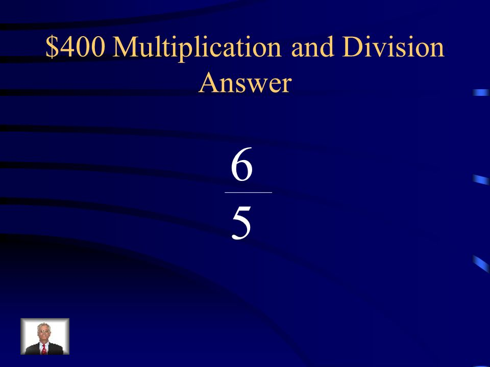 $400 Multiplication and Division Answer