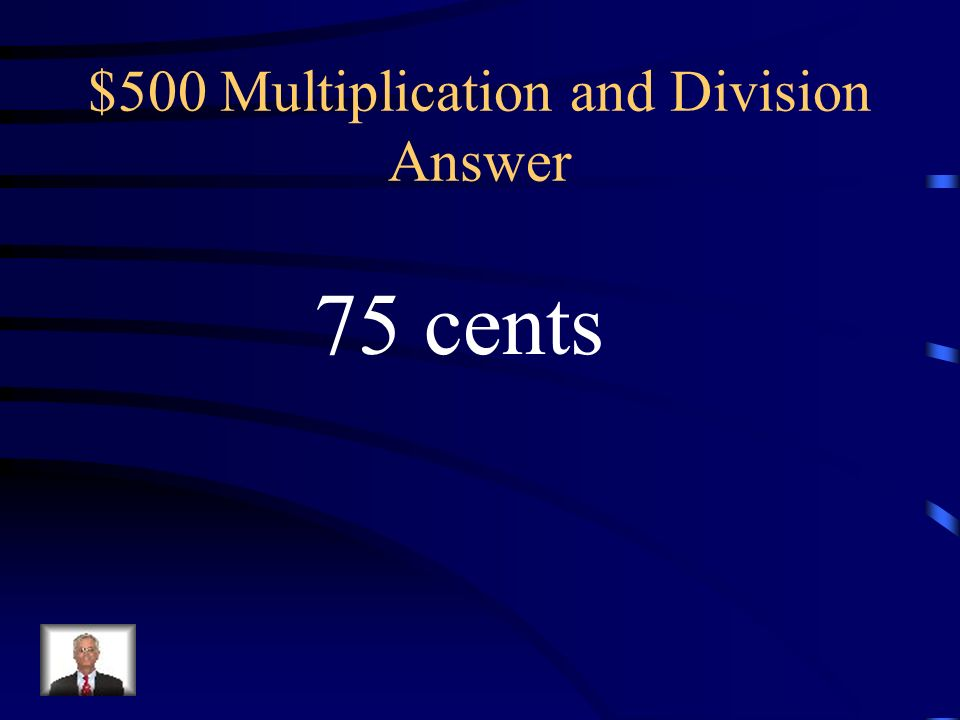 $500 Multiplication and Division Answer