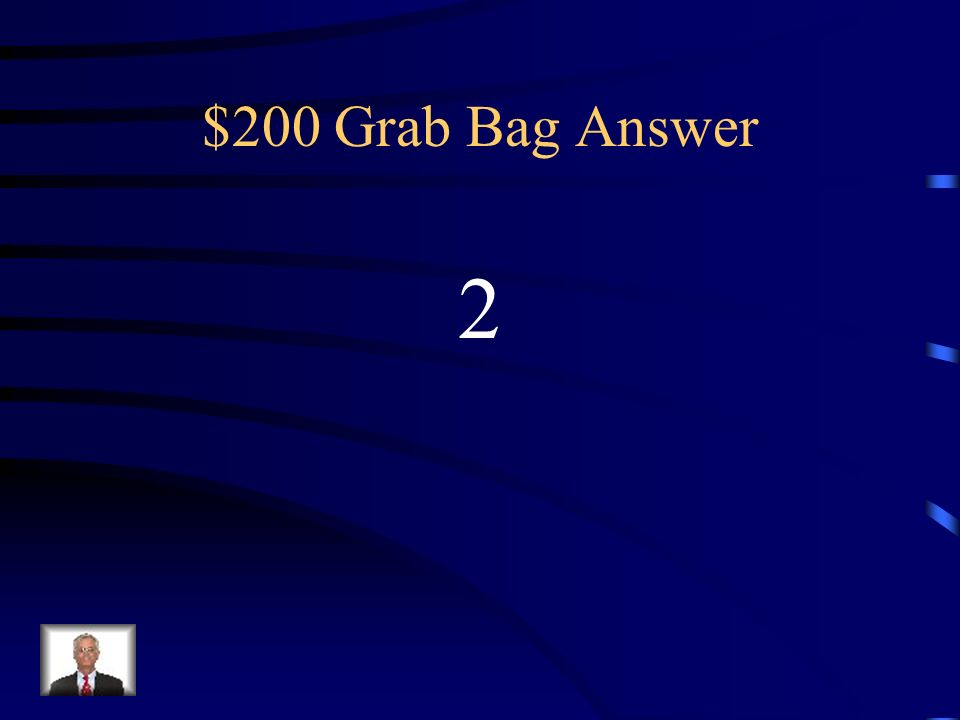 $200 Grab Bag Answer 2
