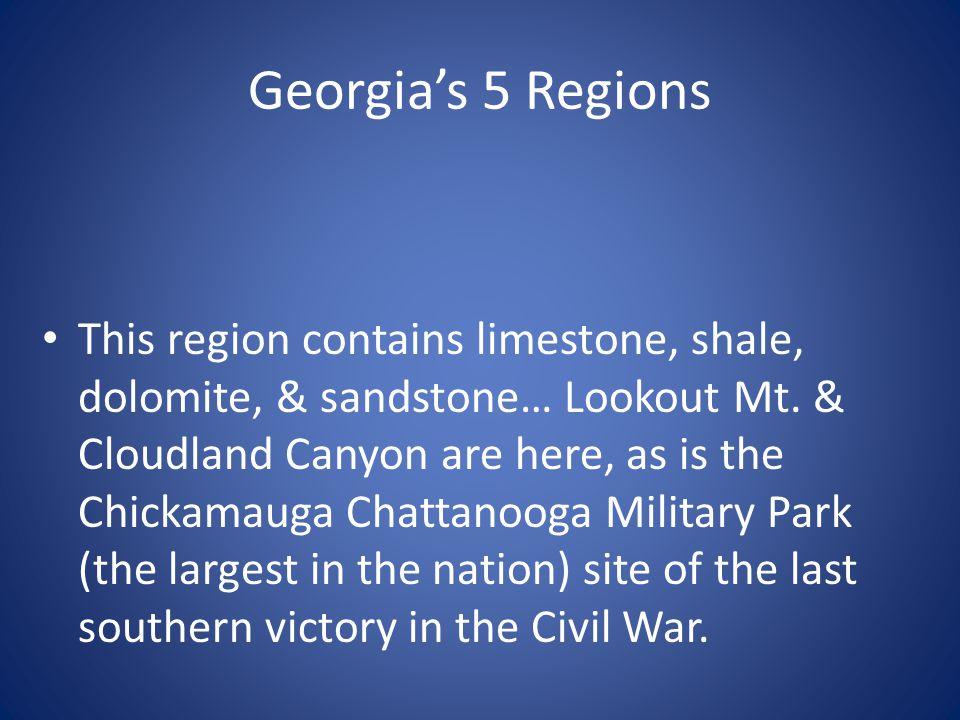 Georgia's 5 Regions
