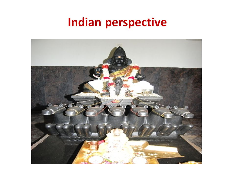 Indian perspective