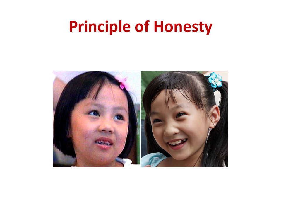 Principle of Honesty
