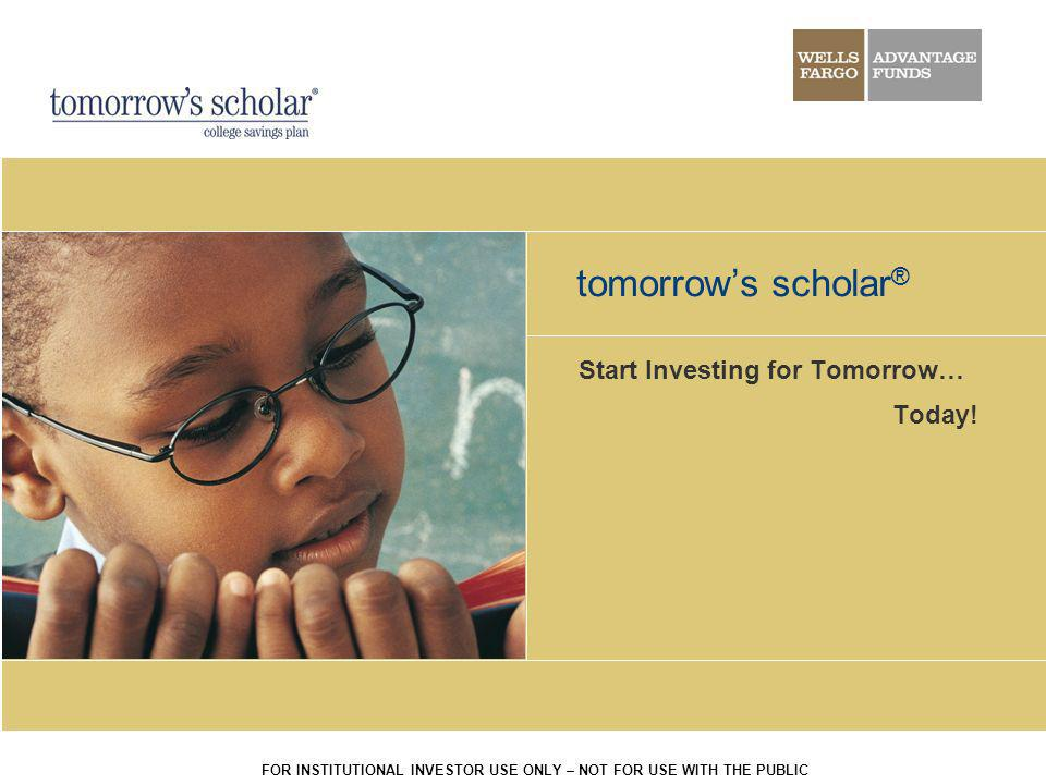 Start Investing for Tomorrow… Today!