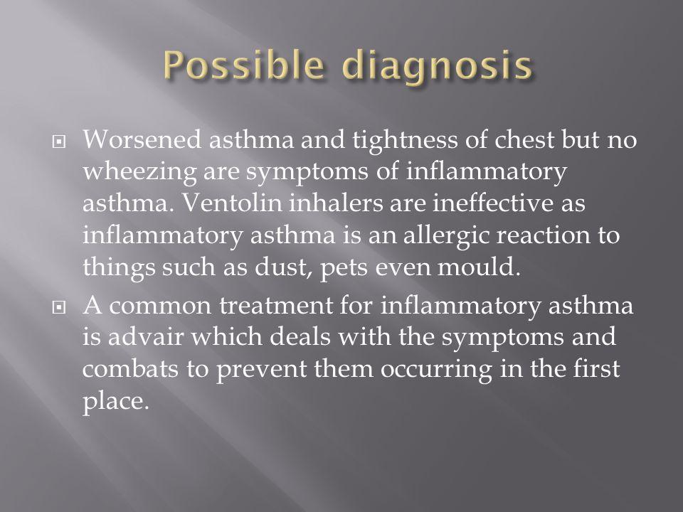 Possible diagnosis