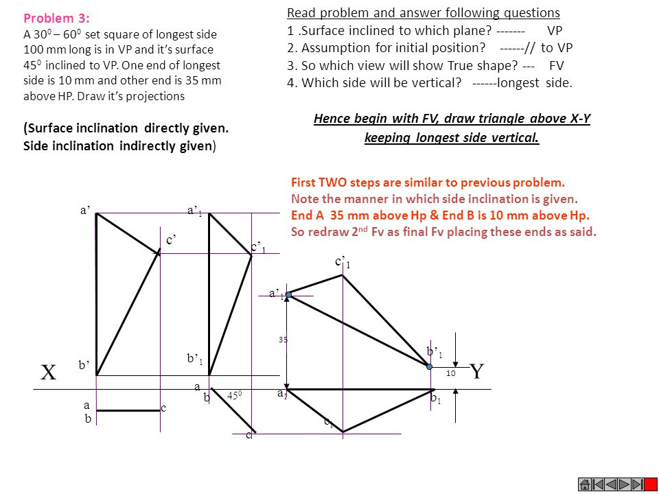 X Y Read problem and answer following questions Problem 3: