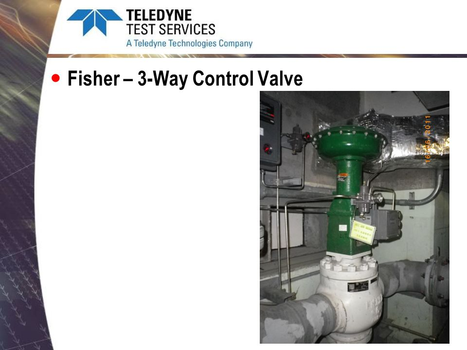 Fisher – 3-Way Control Valve
