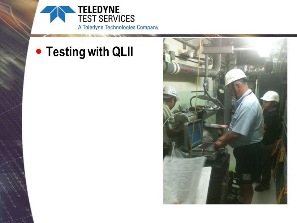 Testing with QLII
