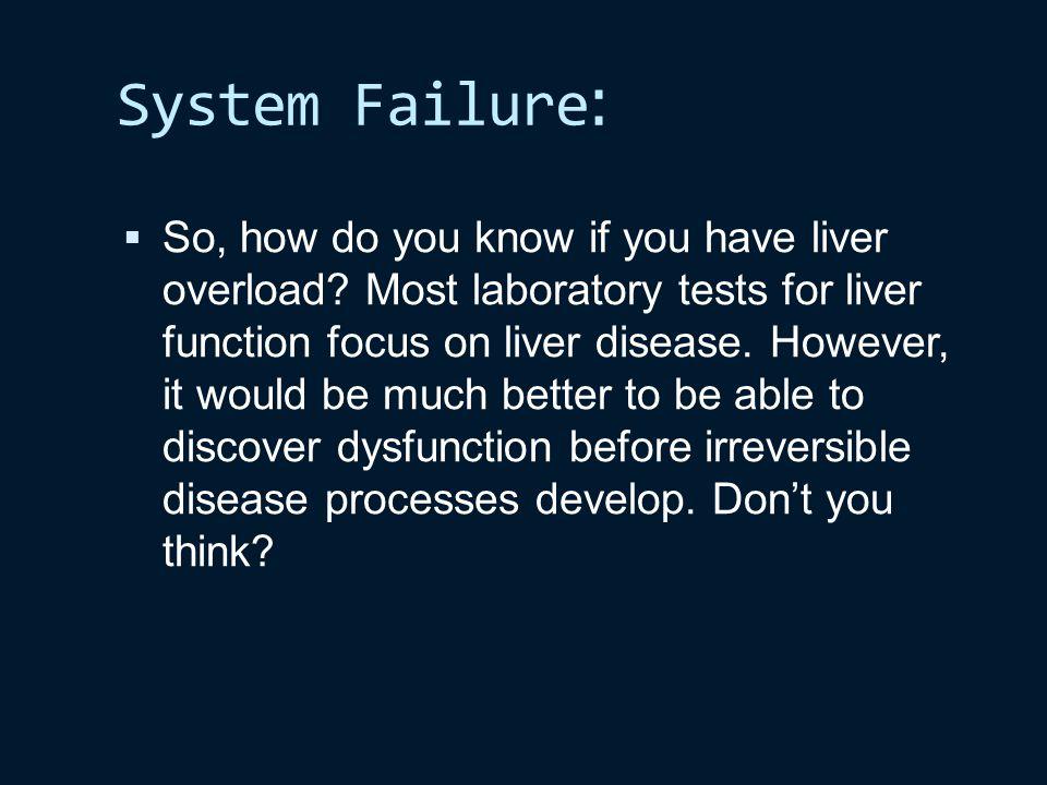 :System Failure