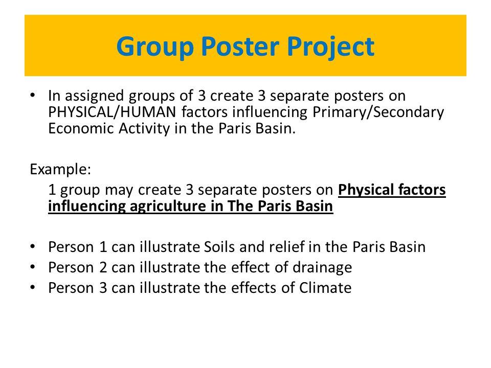 Group Poster Project