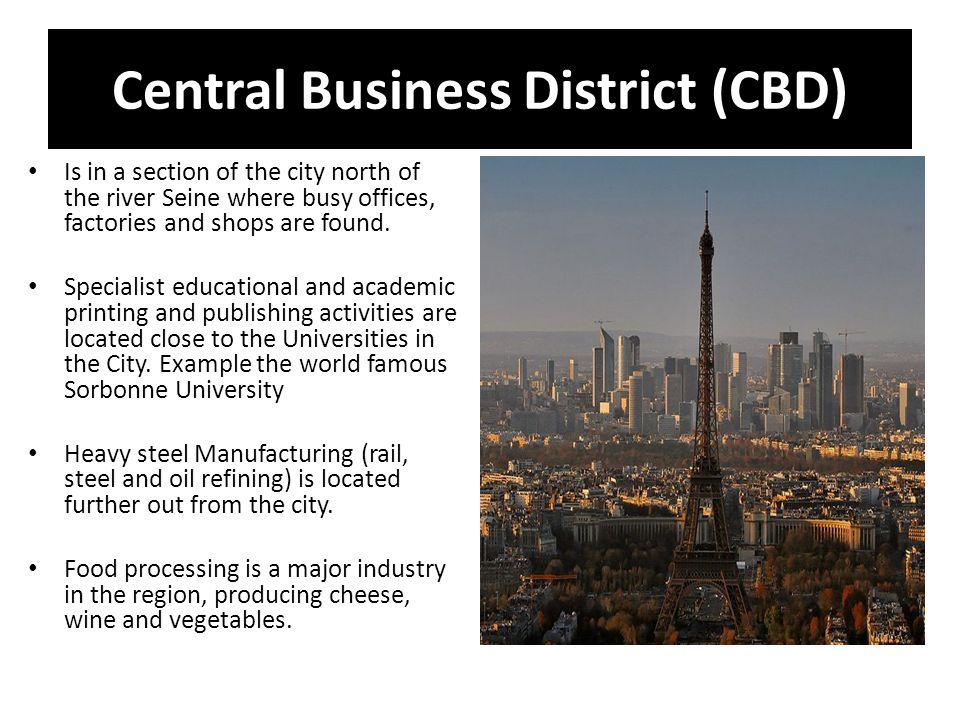Central Business District (CBD)
