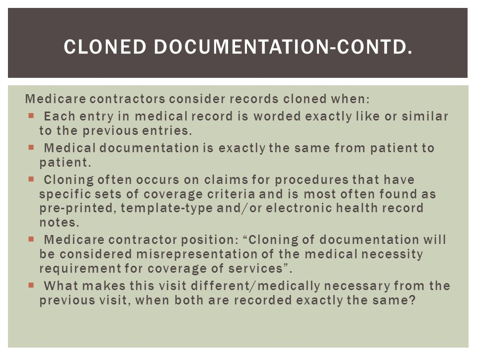 Cloned Documentation-Contd.