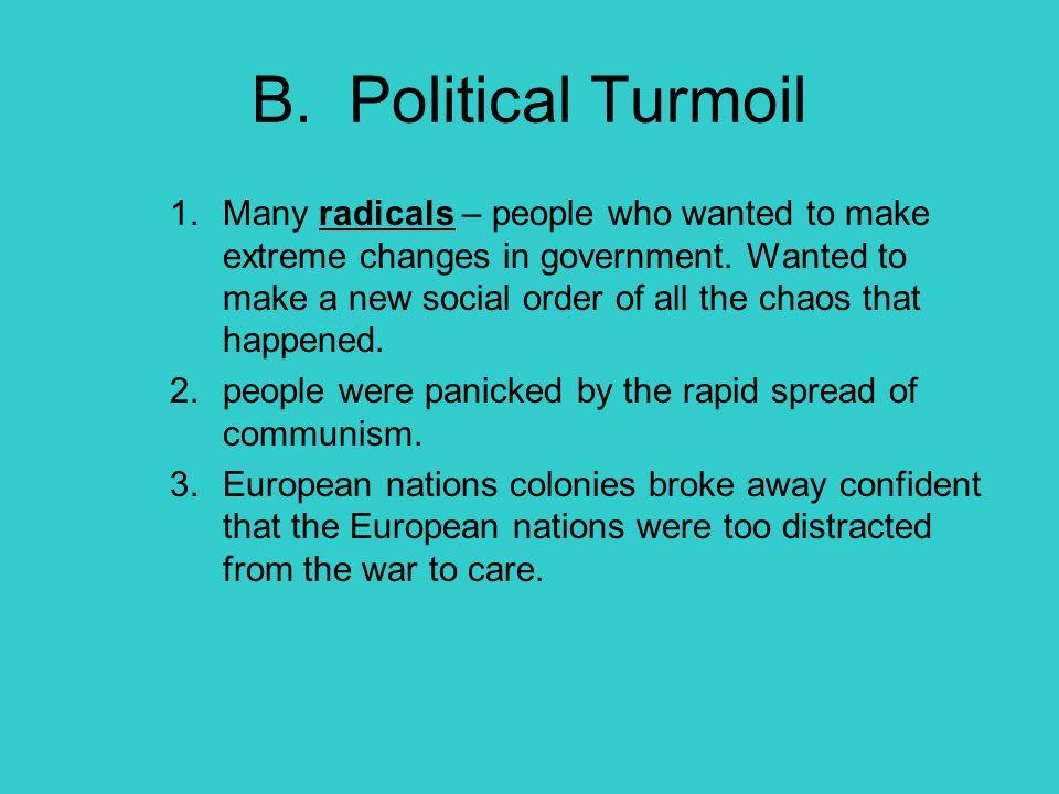 B. Political Turmoil