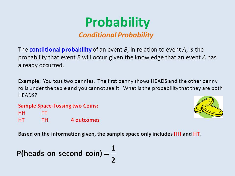 Probability Conditional Probability
