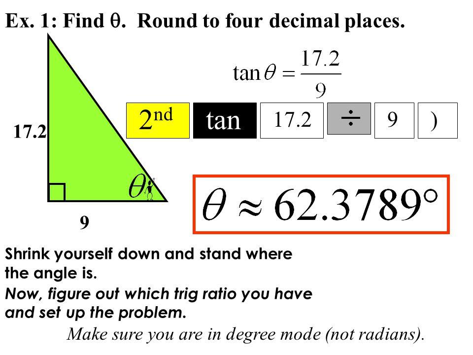 Ex. 1: Find . Round to four decimal places.
