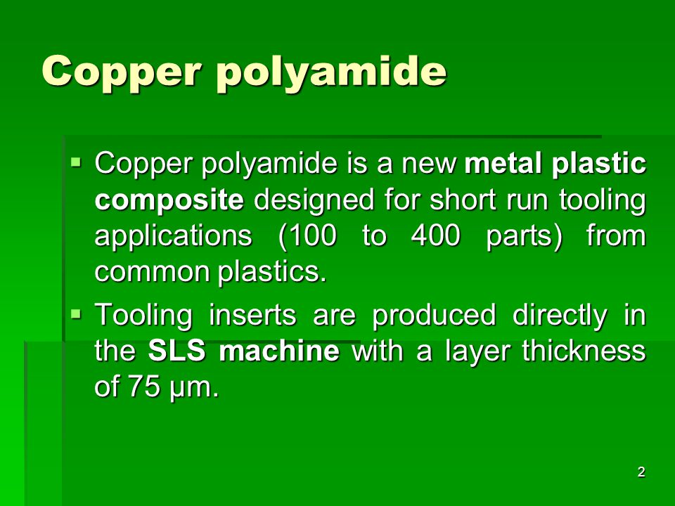Copper polyamide