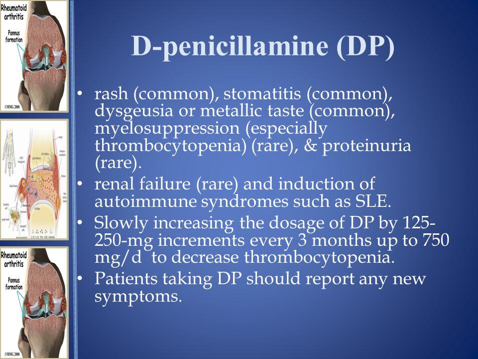D-penicillamine (DP)