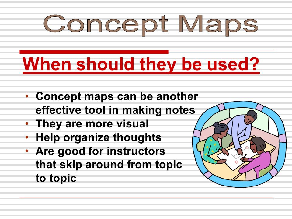 Concept Maps When should they be used Concept maps can be another