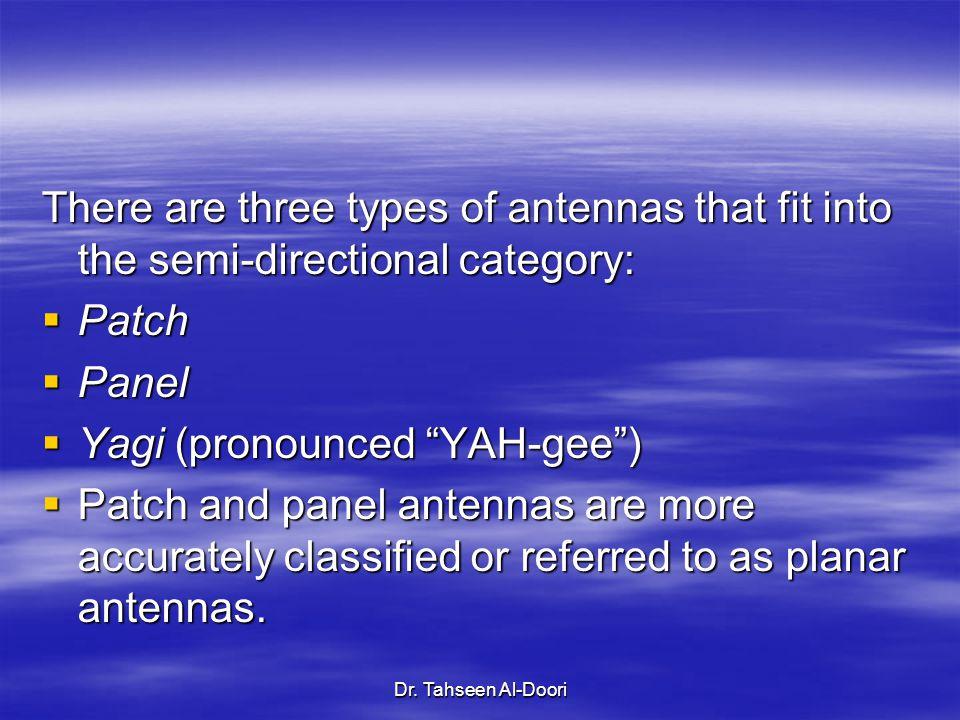 Yagi (pronounced YAH-gee )