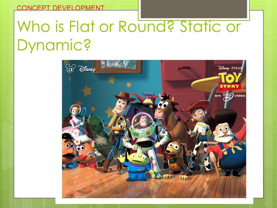 Who is Flat or Round Static or Dynamic
