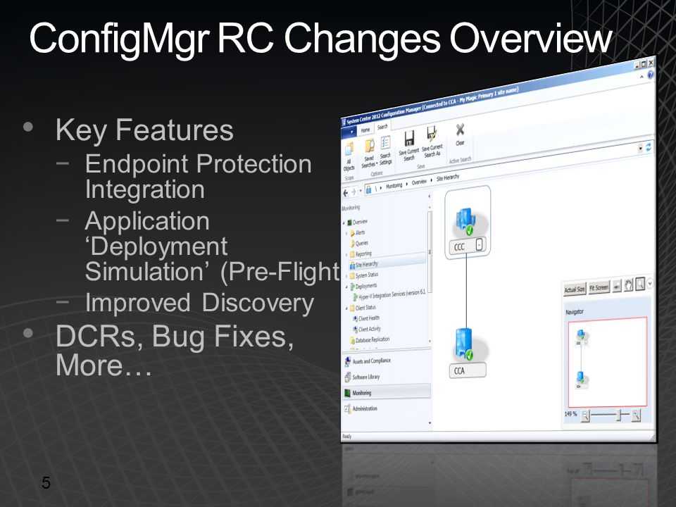ConfigMgr RC Changes Overview