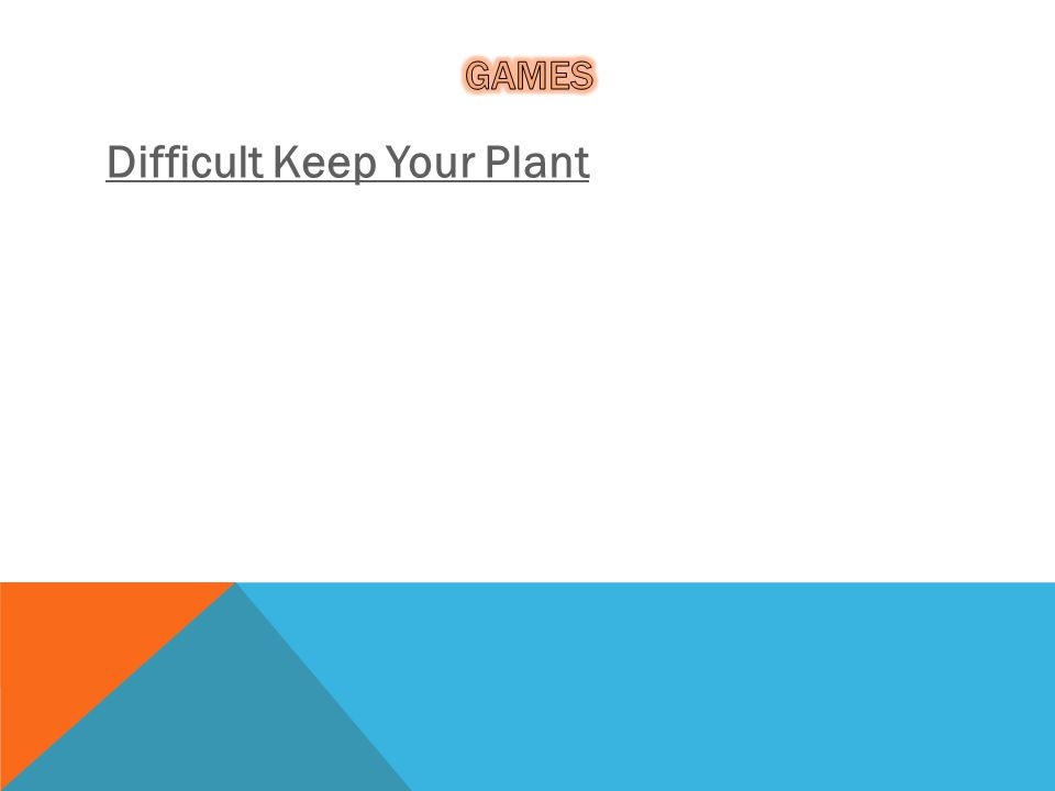 Difficult Keep Your Plant