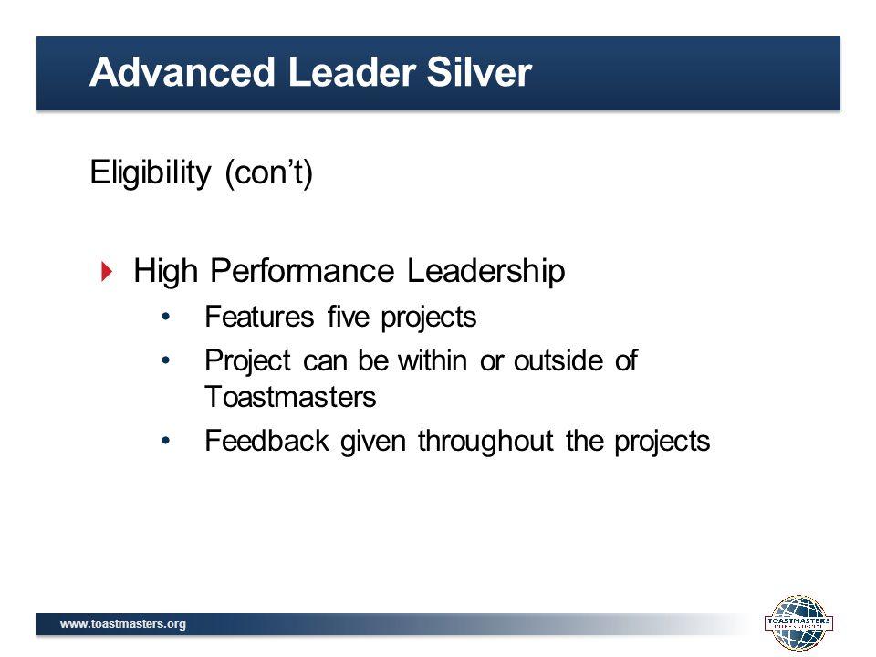 Advanced Leader Silver